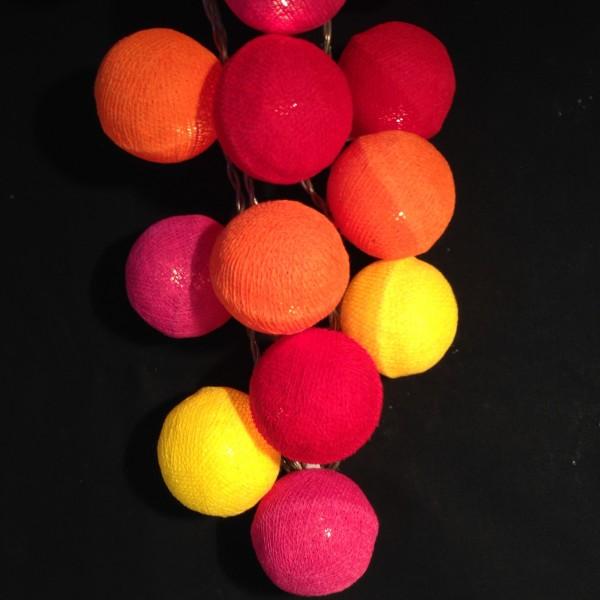 Guirlande lumineuse 20 boules for Guirlande exterieure lumineuse 20 metres