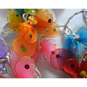 Guirlande lumineuse  Papillons
