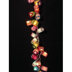 Guirlande lumineuse de 35 lampions