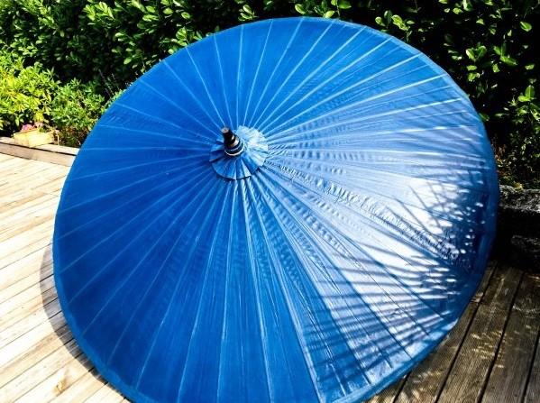 Parasol Bleu Roi